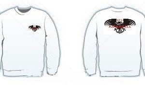 sweatshirtweissdruck